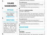 Editable Resume format Word Ikebukuro Elegant Resume Template