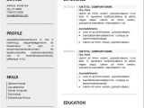 Editable Simple Resume format 10 Best Resume Templates You Can Free Download Ms Word