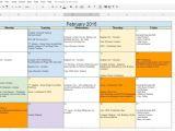 Editorial Calendar Template Google Docs How to Create A Free Editorial Calendar Using Google Docs
