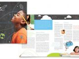 Education Brochure Templates Free Download Education Foundation School Brochure Template Design