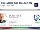 Education Email Templates 96 Responsive Email Signatures Free Premium Templates