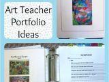 Educational Portfolio Template Art Teacher Portfolio Ideas for An Interview Art is