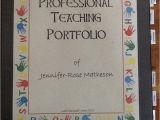 Educational Portfolio Template Back Hall Collaborators Professional Teaching Portfolio