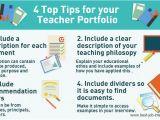 Educational Portfolio Template Your Teacher Portfolio