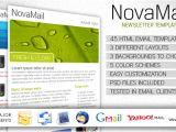 Effective Email Templates Novamail Newsletter Template by Quadratt themeforest