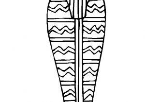 Egyptian Sarcophagus Template Sarcophagus Coloring Page Az Coloring Pages