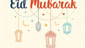 Eid Card Design Vector Free Download Eid Mubarak Card