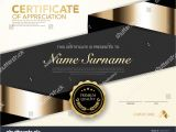 Eid Card Templates to Colour Diploma Certificate Template Black Gold Color Stock