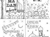Eid Card Templates to Colour Ramadan Coloring Cards Printable Digital Download