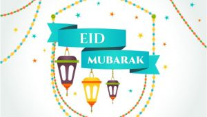 Eid Mubarak Email Template Eid Mubarak Card Vector Free Download