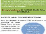 Ejemplo De Resumen Profesional Por Que Es Tan Importante Comenzar Nuestros Cv Con El