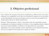 Ejemplos Objetivos Resume Profesional Objetivos Para Resume Trabajo