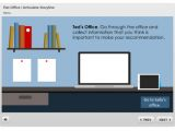 Elearning Heroes Templates Interaction Elearning Template Flat Office for