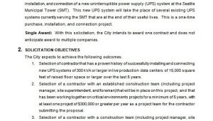 Electrical Contractor Proposal Template Bid Proposal Templates 19 Free Word Excel Pdf