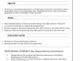 Electrical Engineer Fresher Resume format Resume Templates for Electrical Engineer Freshers