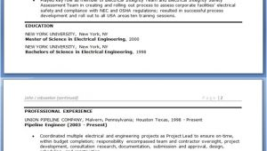 Electrical Engineer Resume Sample Doc Electrical Engineer Resume Sample Doc Experienced