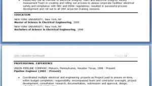 Electrical Engineer Resume Sample Doc Electrical Engineer Resume Sample Doc Experienced