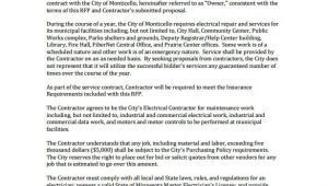 Electrical Work Proposal Template Work Proposal Template 15 Free Sample Example format