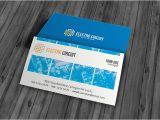 Electronic Business Card Templates Unique Electrical Business Card Template Free Download