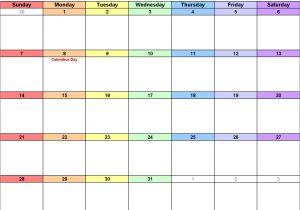 Electronic Calendar Template October 2018 Calendar Template Calendar Yearly Printable