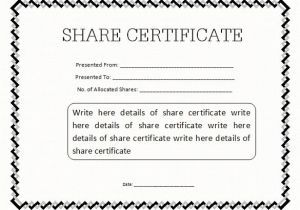 Electronic Stock Certificate Template 21 Share Stock Certificate Templates Psd Vector Eps