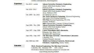 Electronics Engineer Resume Sample Pdf Electronics Resume Template 8 Free Word Pdf Document