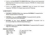 Electronics Engineering Fresher Resume format Electronics Engineer Fresher Resume