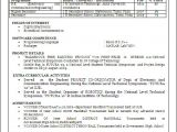 Electronics Engineering Fresher Resume format Resume Blog Co Beautiful One Page Resume Cv Sample In