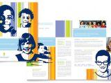 Elementary School Brochure Template Learning Center Elementary School Brochure Template Design