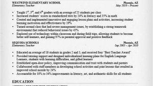Elementary Teacher Resume Template Teacher Resume Samples Writing Guide Resume Genius