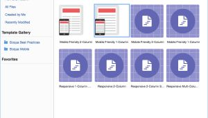 Eloqua Email Templates tool Tip oracle Eloqua Templates Part 1 Relationship One