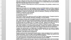 Email Acceptable Use Policy Template Acceptable Use Policy Acceptable Use Policy Template