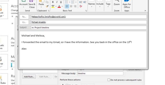 Email Auto Reply Template Use Outlook 39 S Auto Reply Features to Free Your Vacation