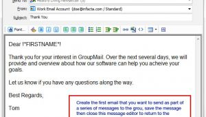 Email Autoresponder Template Automatic Email Drip Marketing Campaigns with Groupmail