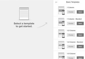 Email Blast Template Size Getting Started with Mailchimp 39 S Email Designer