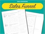 Email Funnel Templates Sales Funnel Template that Works Free Download Pdf