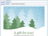 Email Gift Certificate Template Email Gift Certificate Template Gift Templates