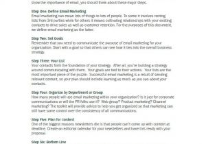 Email Marketing Proposal Template 10 B2b Marketing Plan Templates Doc Pdf Free