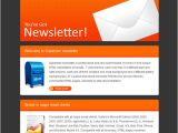 Email Newsletter Template software Email Newsletter Templates 40 Hand Picked Premium Designs