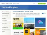 Email Newsletter Templates for Outlook 10 Excellent Websites for Downloading Free HTML Email