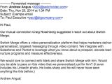 Email Prospecting Templates Sales Prospecting Emails 4 Great Examples