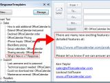 Email Response Templates Email Response Templates for Microsoft Outlook