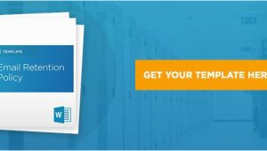 Email Retention Policy Template Comprehensive Guide to Email Retention Policy Includes