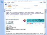 Email Signature Template Editor Template Editor Screenshots Exclaimer