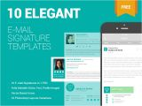 Email Signature Template Size 10 Free Email Signature Templates by Zippypixels