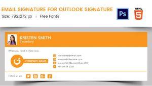 Email Signature Template Size 96 Responsive Email Signatures Free Premium Templates