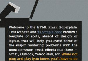 Email Template Boilerplate Coding Q A with Chris Coyier Code Smell and Type On A