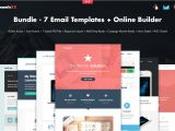 Email Template Builder software Bundle 7 Email Templates Builder Email Templates On