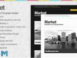 Email Template Marketplace Market Email Newsletter and Template Builder