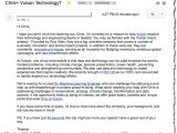 Email Template to Recruiter This Cold Recruiting Email Just Worked On Me Recruiting